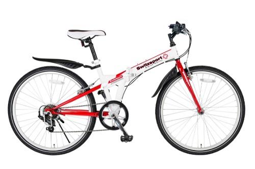 26型クロスバイク折畳自転車