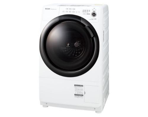 シャープ ES-S7F-WLドラム式プラズマクラスター洗濯乾燥機