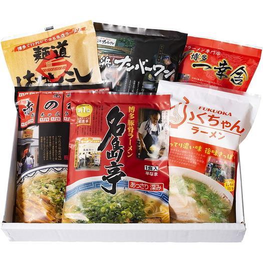 【福岡県】博多の行列ができる名店ラーメン6種